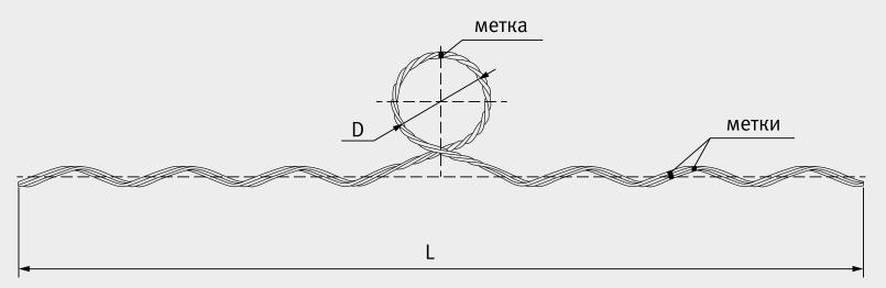 Вязка спиральная ВС 35/50.1 ( 130801-01100 )